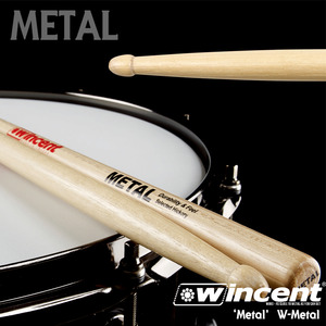 Wincent 윈센트 드럼스틱 'METAL!!' Drum Stick /W-Metal 5BXXL뮤직메카